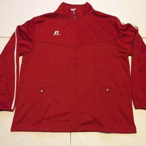 Russell Athletic Sweatshirts Full Zip Men sz Large
